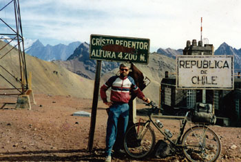 Aconcagua,chile,The andes,mountain pass,Argentina,Bolivia,Altiplano,ski lodge,bicycle